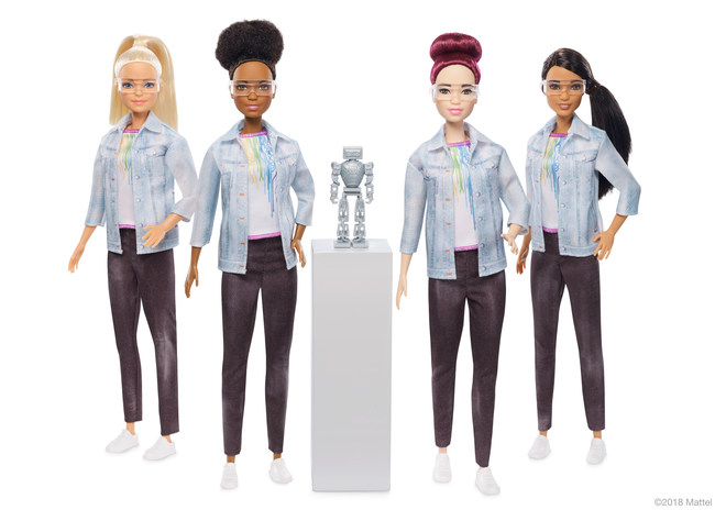 Today, the Barbie® brand launches Robotics Engineer Barbie, a doll designed to pique girls' interest in STEM and shine a light on an underrepresented career field for women.