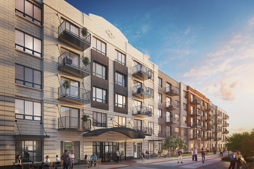301 luxury ONE rental apartments now available for reservation at the Wheeling Town Center.
