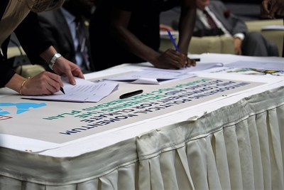Uganda launches NDC Partnership Plan for Climate Action to Advance Paris Agreement on Climate Change (PRNewsFoto/NDC Partnership)