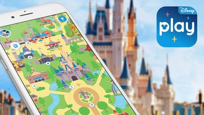 Guests can explore the Disney theme parks like never before with the Play Disney Parks mobile app, a transformative new digital entertainment offering that will make its official debut on June 30 at Walt Disney World Resort in Florida and Disneyland Resort in California.