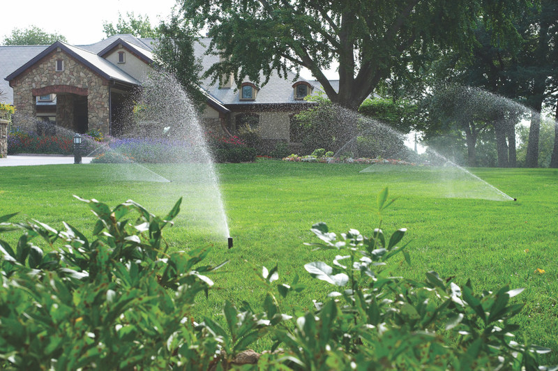 Most homeowners can save water while having a more beautiful yard by using an irrigation system to deliver the right amount of water at the right time. A properly designed, installed and maintained irrigation system will help minimize the amount of water required and still keep the lawn and landscape looking healthy.