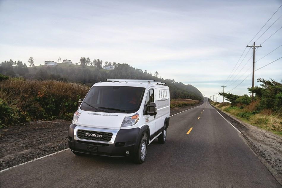 Ram Updates New 2019 ProMaster Vans