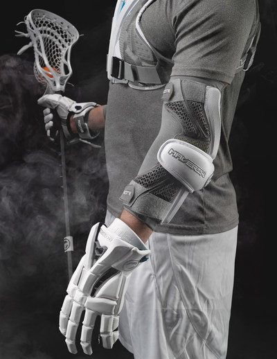 The new Rome arm guard and arm pad feature new EForm™ technology, which provides best-in-class impact dispersion technology and is body heat activated to provide a custom, contoured fit. Design your custom team look today at factorycustom.com.