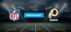 The Washington Redskins and Ticketmaster Extend Official Partnership In A New Multi-Year Deal