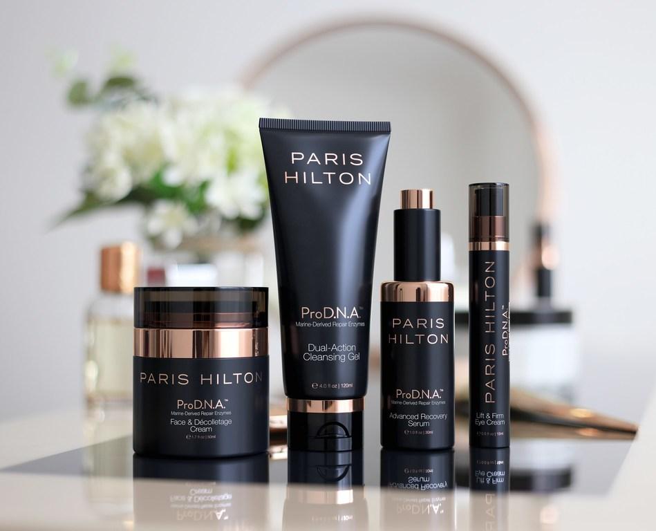 Paris Hilton Skincare ProD.N.A Line