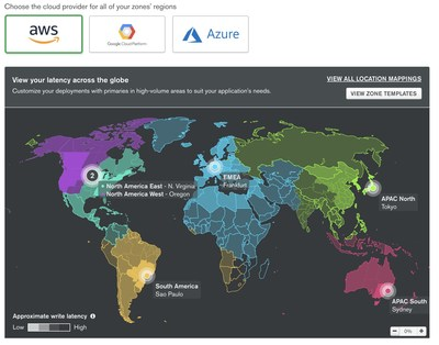 MongoDB Global Clusters