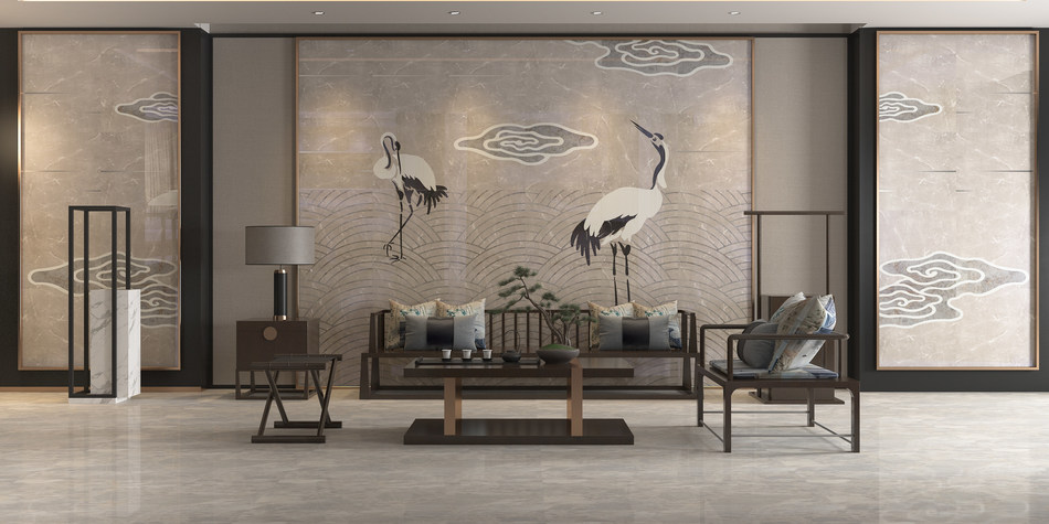MARMOCER Marble Breaks Limitations with Innovative Designs at 2018 International Press Conference