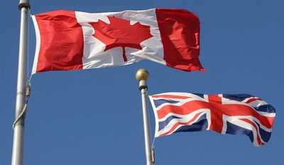Des équipes de chercheurs du Canada et du Royaume-Uni se pencheront sur l'avenir des relations commerciales entre les deux pays (Groupe CNW/Conseil de recherches en sciences humaines du Canada)