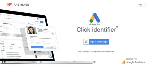 The new Google Ads Extension Now Displays Detailed Contact Information On All Ad Visitors Provided By Fastbase