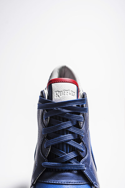 Limited-edition Ruffles-inspired sneaker crafted by custom shoe designer Dominic Chambrone, otherwise known as The Shoe Surgeon.