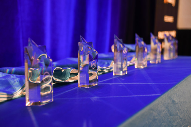 The Nulogy PackStar Awards, presented at the Nulogy xChange conference, recognize the achievements of CPG brands, third-party logistics providers, contract packaging suppliers, and material manufacturing suppliers. (CNW Group/Nulogy)