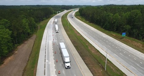 Volvo Trucks North America, in collaboration with FedEx and the North Carolina Turnpike Authority, successfully demonstrated on-highway truck platooning on N.C. 540 today as part of ongoing research collaboration.