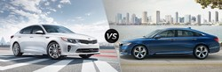 Both the 2018 Kia Optima and 2018 Honda Accord have similar engine options and peformance, but it's the Kia that offers the most overall value thanks to its wide variety of high-tech features.