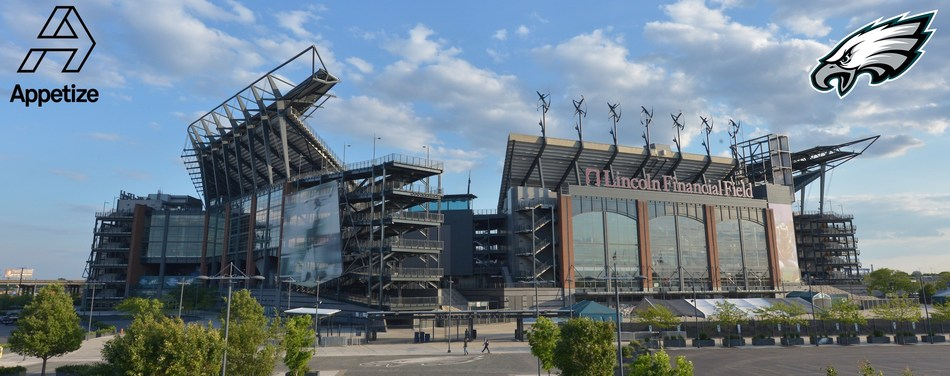 Philadelphia Eagles Select Appetize To Power All Food & Beverage Sales At Lincoln Financial Field