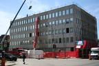 Le 3730, boulevard Crémazie est, prendra un nouveau visage, celui du Groupe Atwill-Morin, le 16 juillet prochain, après qu'il se sera refait une beauté! (Groupe CNW/Groupe Atwill-Morin)
