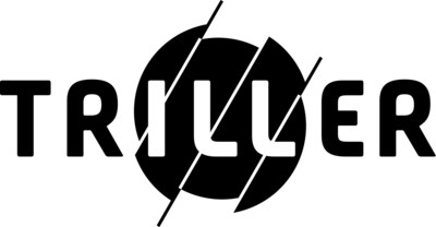 Triller Logo - triller.co (PRNewsfoto/Triller)