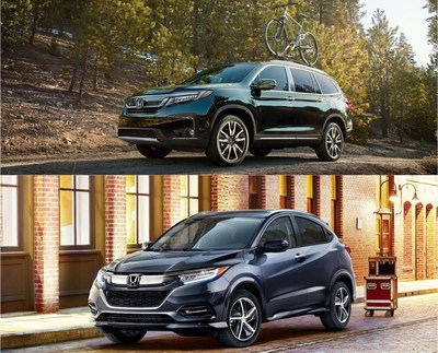Honda will celebrate summer with the launch of significantly refreshed versions of its 8-passenger Pilot SUV and subcompact HR-V SUV.