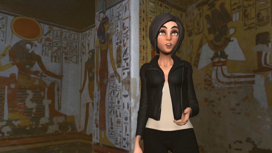 Egyptologist leads VR tour of Queen Nefertari's tomb in High Fidelity