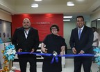 Shane Baetz Sr Director Support Services APAC SYKES, Janine Baker Site Director SYKES India and Dishant Bhojwani Country Head SYKES India at the launch of new state of the art site of SYKES in Hyderabad, India (PRNewsfoto/SYKES)