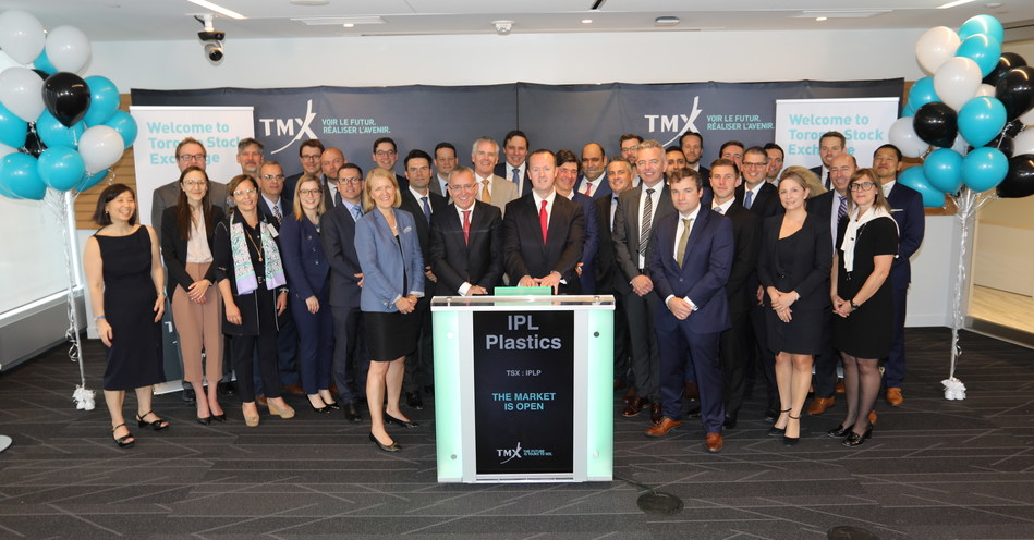 IPL Plastics Inc. Opens the Market (CNW Group/TMX Group Limited)