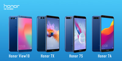 Four Honor Smartphones launching in Latin America