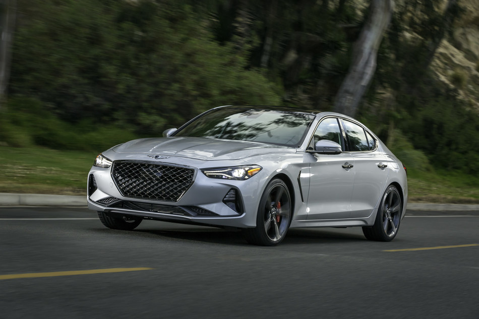 The all-new 2019 G70 showcases the future direction of the Genesis brand's design identity.