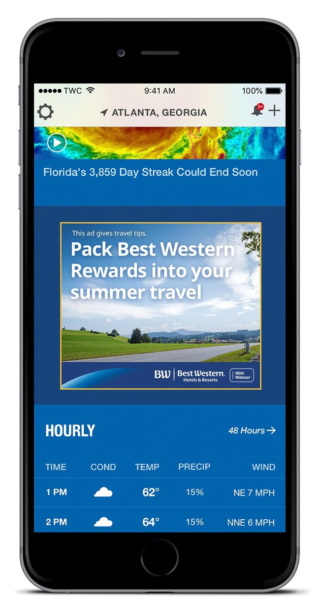 Best Western® Hotels & Resorts and IBM Introduce AI-powered Ad to Help Consumers Personalize Vacation Planning
