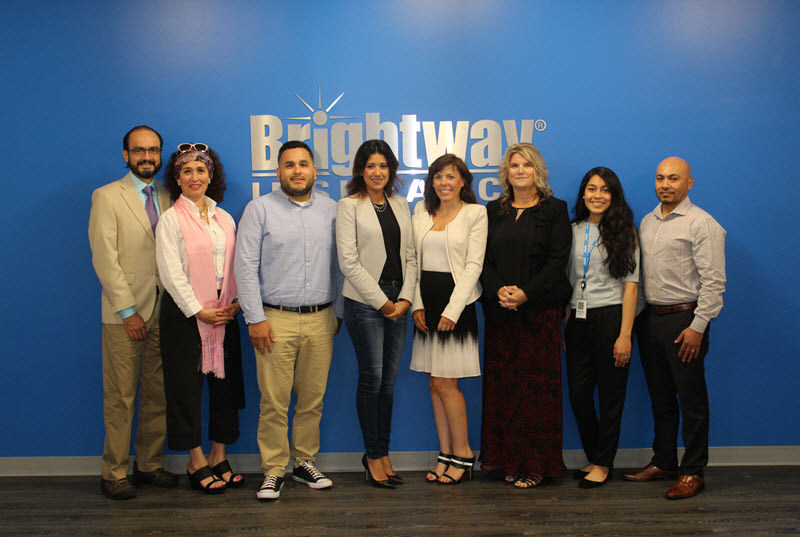 Brightway Franchise Owners and their sales teams gathered at Brightway's Home Office in Jacksonville, Fla., during the week of June 25, for training before opening their new stores.