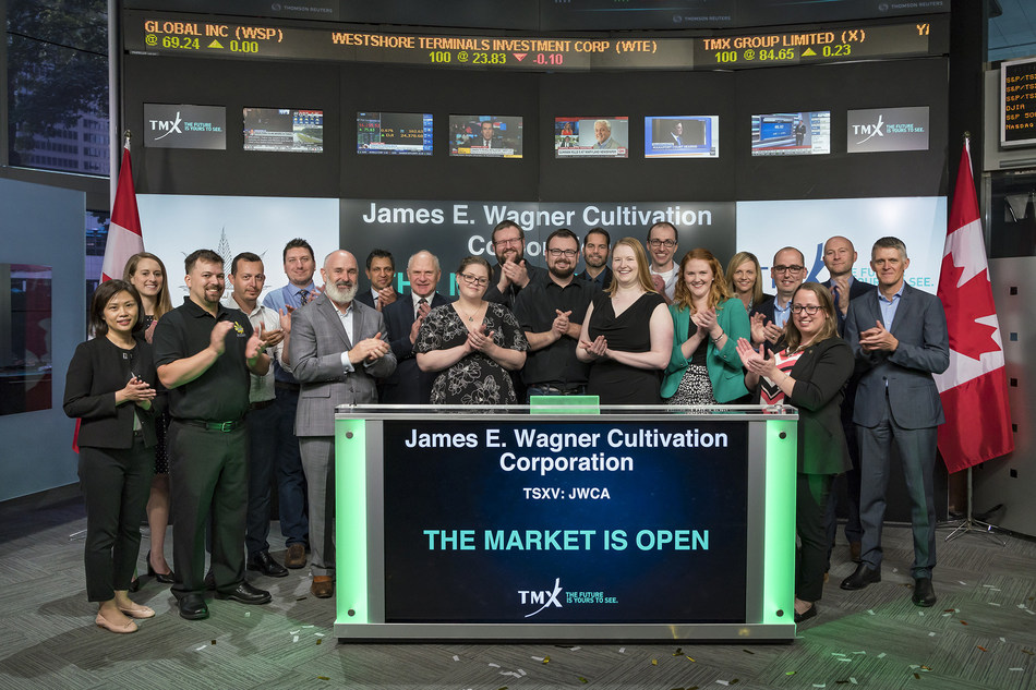 James E. Wagner Cultivation Corporation Opens the Market (CNW Group/TMX Group Limited)