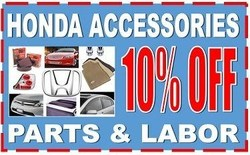 Service and accessory coupons are currently available on the Matt Castrucci Honda website.