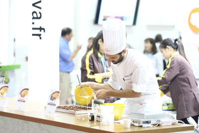 Great networking opportunities and educational features onsite at Fi Asia (PRNewsfoto/UBM)