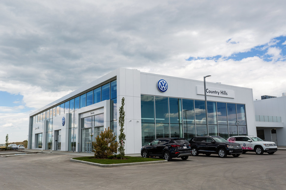 Dilawri Group of Companies announced the opening of Country Hills Volkswagen in Calgary. With this brand new addition, Dilawri now owns and operates 68 dealerships across Canada. (CNW Group/Dilawri Group of Companies)