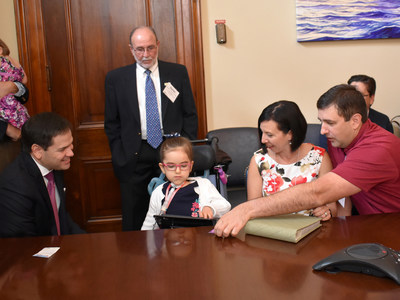 St. Joseph s Children s Hospital Patient with Extremely Rare Condition Travels to Nation s Capital to Urge Congress to Safeguard Medicaid for Kids