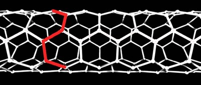 Figure One – Armchair carbon nanotube design