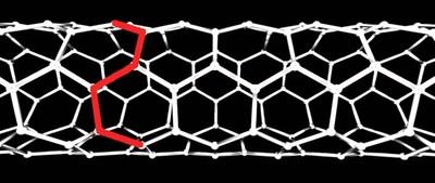 Figure One - Armchair carbon nanotube design