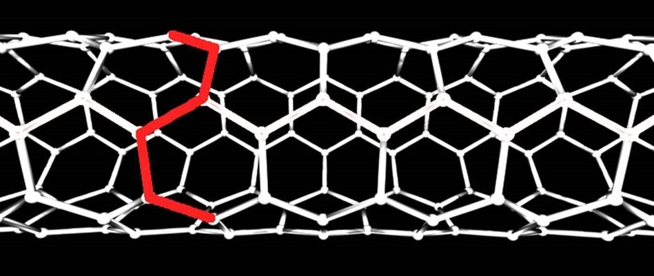 Figure One - Armchair carbon nanotube design