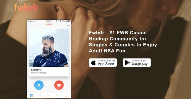 Online Hookup Fwbdr, A Newly Launched FWB Dating App, Dedicates To Pure FWB Casual Connections