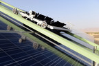 Ecoppia E4 robot to be cleaning Softbank 580MWp solar project In Rajasthan, India (PRNewsfoto/Ecoppia)