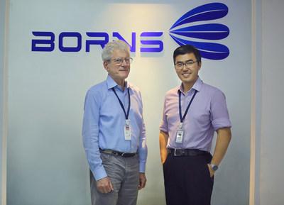 Borns Medical Robotics Inc CEO Dr. Yao Li and CTO, IEEE Life Fellow, Dr. William Levine