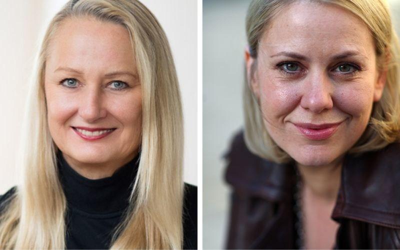 Ute Biernat and Anke Greifeneder judges at the Venice TV Award (PRNewsfoto/International Creative Community)