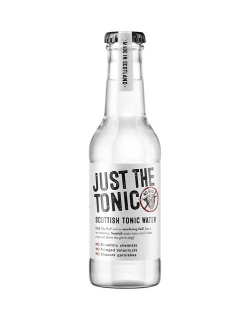 No fluff and no marketing bull. Just a great tasting Scottish tonic water. (PRNewsfoto/Just The Tonic)
