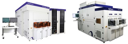 KLA-Tencor's new Voyager™ 1015 and Surfscan® SP7 defect inspection systems support process and tool monitoring for leading-edge logic and memory design nodes. (PRNewsfoto/KLA-Tencor Corporation)