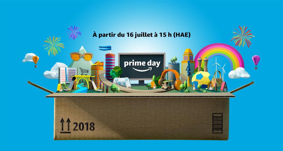 Amazon Prime Day (Groupe CNW/Amazon Canada)