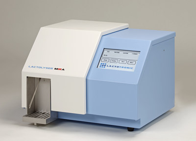 MIRA milk analyzer for the determination of fat, protein and lactose