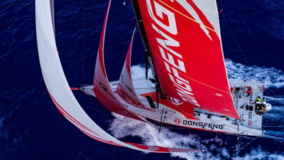 As Dongfeng Race Team has taken the first place of VOR, Dongfeng Motor has been enthralling the world with its own story. (PRNewsfoto/Dongfeng Motor Corporation)