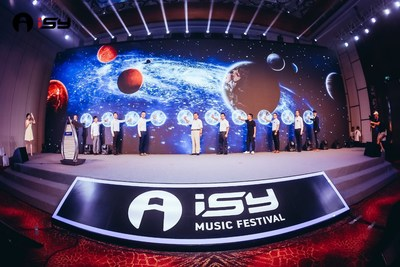 The launch ceremony of the 2nd ISY Music Festival