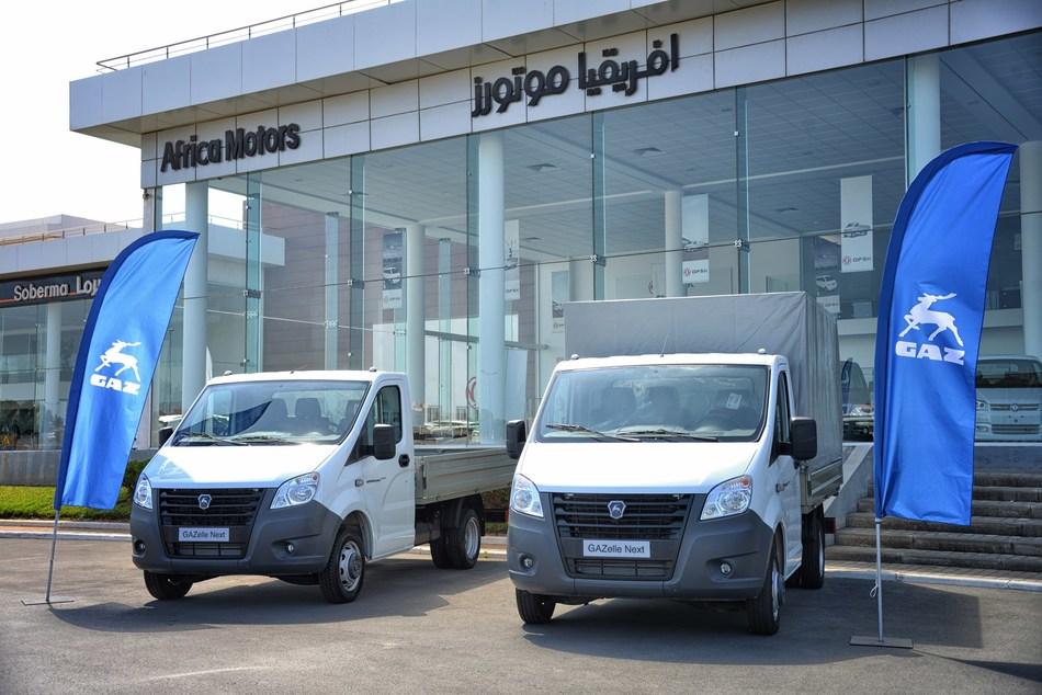 Start of sales of GAZelle NEXT in Morocco (PRNewsfoto/GAZ)
