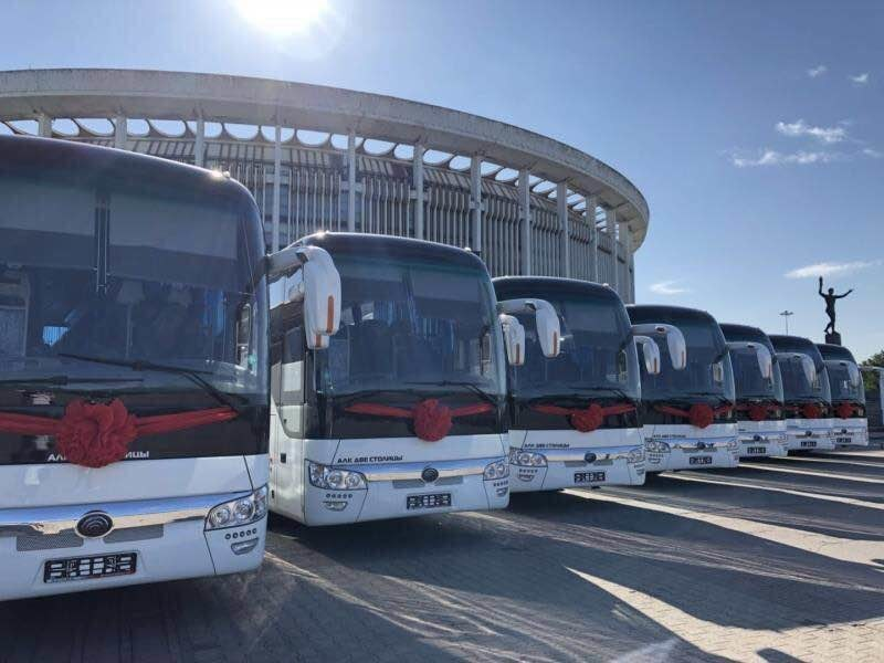Yutong Bus delivers 300 buses to Russia during the football season