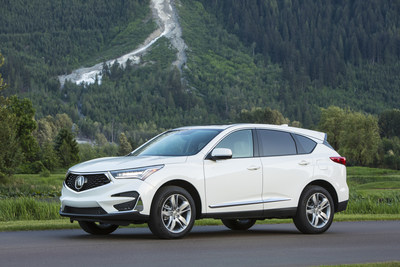 American Honda set multiple Junes sales records as both Honda and Acura brand sales gained strongly. The all-new 2019 Acura RDX helped Acura trucks to best-ever June sales and RDX smashed its previous all-time monthly record, along with notching best-ever sales of any Acura SUV in the process. (PRNewsfoto/American Honda Motor Co., Inc.)