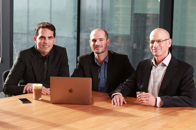 Planck Re's Founder (From left to right): Elad Tsur, Amir Cohen and David Schapiro.